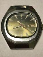 Watch Slava 26 Jewels Soviet Ussr S Russian Mechanical Mens Rare Vintage Old