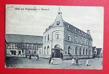 AK KLIPPHAUSEN bei Wilsdruff 1921 Concert- Ball - Saal mit Kindern   ( 29590