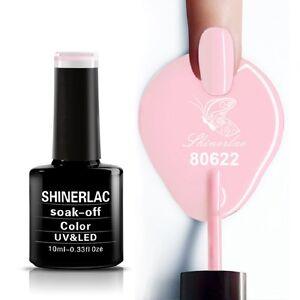 Shinerlac 80622 BE DEMURE Flirtation Collection UV/LED Soak Off Gel Nail Polish