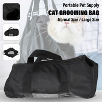 Portable Pet Supply Cat Grooming Bag Bathing Restraint Washing Nail Cutting