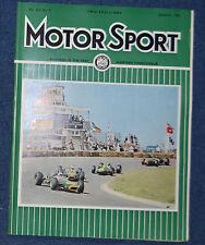 Motor Sport September 1966 Brabham wins German GP, Triumph 1300, Dutch GP