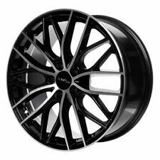18 Zoll MM01 Alu Felgen et30 5x112 schwarz für Audi S-Line RS AMG A5 A6 A4 RS4