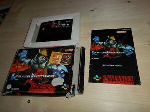 Killer Instinct GPS OVP/CIB boxed Super Nintendo SNES
