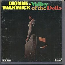 Dionne Warwick in Valley Of The Dolls 4T Reel Tape 3 3/4 ips Fully Tested! Exc.