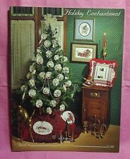 Stony Creek Collection Counted Cross Stitch Book #18 ~ Holiday Enchantment