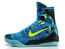 low priced 96d66 6ac02 Nike Zoom KOBE IX 9 ELITE PERSPECTIVE NEO TURQ BLUE VOLT WHITE 630847-400 Sz