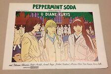 """""""Diabolo menthe"""" Peppermint Soda Klarwein 1977 Danish Movie Press Release Kit"""