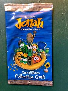 2002 Big Idea VEGGIE TALES *sealed* JONAH special edition trading cards pack