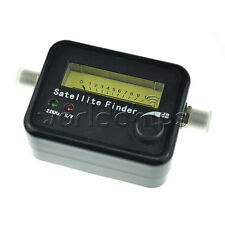 Digital Satellite Signal Dish FTA HD Monitors Signal Strength Meter Finder new
