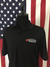 Jack Stack BBQ Polo Shirt men's XL wicking Barbecue Kansas City Grilling 18881