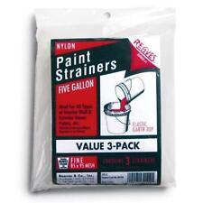 3 Pack Reaves 30203 Nylon Paint Strainer 5 GALLON Elastic Gartr-Top Fine Mesh