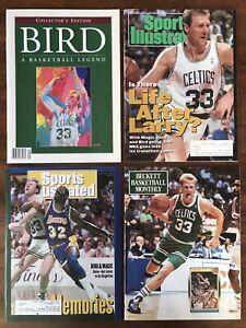 Larry BIRD Basketball LEGEND Collector's Edition, 3 more, SI, NBA Boston Celtics