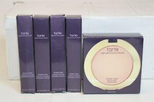 BUNDLE LOT x 5 Tarte Shape Tape Moonlit Glow Powder & Concealers  NEW ITALY