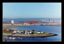 PHOTO  CARDIFF  WHILST THE BARRAGE WAS UNDER CONSTRUCTION THE TIDE STILL WENT OU