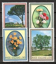 Italy - 1966 Flora - Mi. 1206-09 MNH