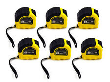 6 x 8M Metric HD Tape Measures Measuring Tape 8m x 25mm