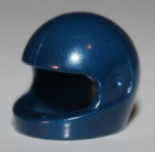 LeGo 2x Dark Blue Standard Minifig Helmet Head Gear NEW