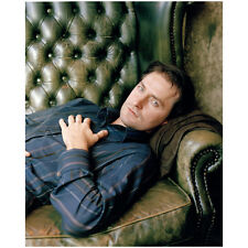 Richard Armitage Laying Down on Leather Couch 8 x 10 Inch Photo