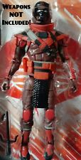 VHTF G.I. Joe Red Ninja Action Figure Classified Series 6 Inch Wave 2 LOOSE