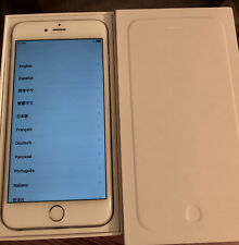 APPLE IPHONE 6 PLUS 64GB UNLOCKED SILVER EXCELLENT CONDITION IN ORIGINAL BOX!