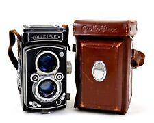 Rolleiflex mit Carl Zeiss Tessar 1:3.5 7,5cm (Heidosmat 75mm/2.8)