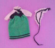 Vintage Barbie Tutti Party Velvet #8505 - Dress & Head Scarf
