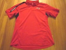 REEBOK NFL NEW ENGLAND PATRIOTS PLAY DRY PERFORMANCE POLO SHIRT SIZE M