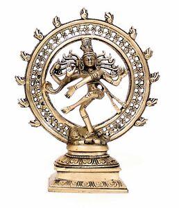 TANZENDER SHIVA 24CM HOCH HIMALAYA BUDDHA DANCING NATARAJA  YOGA MEDITATION