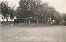 19th Hole at Morrison Country Club in Morrison IL RP Postcard 1959