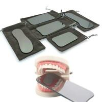 5* Dental Intraoral Orthodontic Photographic Glass Mirror 2-sided Rhodium W O2U5