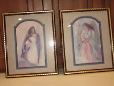 Guardian Angel & Angel Grace by Bettie Hebert-Felder Home Interior Homco