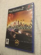 NEED FOR SPEED UNDERCOVER PS2 PLAYSTATION 2 NUOVO