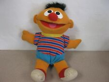 "Tyco1996 Sesame Street Ernie Talking/Laughing 12"" Plush Stuffed Toy"