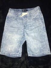 Gap Denim Gap For Good Boys Shorts Size 5T Shark Print Kids Shorts Preowned