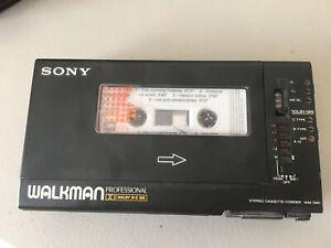 Sony Walkman WM-D6C Enregistreur de Cassettes Professionnel