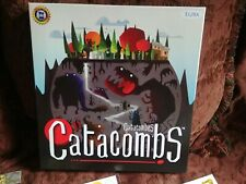 Catacombs (3rd Edition) Board Game - Unused discs, Extra Board, Revised Stickers