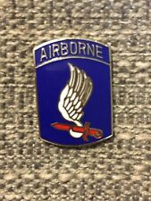 US ARMY 173rd AIRBORNE INFANTRY BRIGADE Hat/Lapel pin Badge- NOS