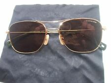 AUTHENTHIC G-STAR METALL ALCATRAZ GS101S-717 GOLD FRAME