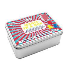 Travel Magic Tricks Set 6 Tricks Included Metal Tin Case Ideal Trick Gift