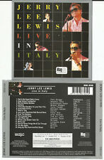 """JERRY LEE LEWIS """"LIVE IN ITALY"""" CD 1999 TKO/UK - NEU/NEW"""