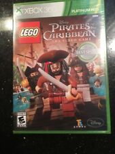 Disney Lego Pirates Of The Caribbean XBOX 360  Brand New Factory Sealed Platinum