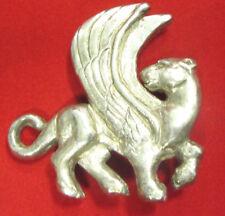 WINGED LION STERLING SILVER .925 BELT BUCKLE