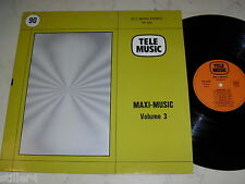 Library telemusic Maxi-Music vol.3 Mat Camison, Bachelet * NM * pink floyd comme *