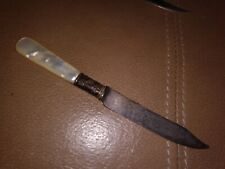 Antique Early Knife Letter Opener / Very Old