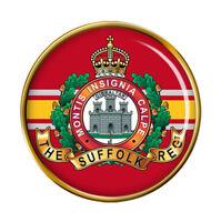 Suffolk Régiment, Armée Britannique Broche Badge