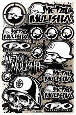 Metal Mulisha Rockstar Energy Sticker Bike MTB Motocross Vinyl Decal Graphic T18