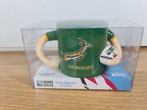 2015 Rugby World Cup Player Ceramic Mug South Africa Springboks 🏉VERY RARE🏉