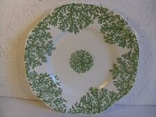 Antique Copeland & Garrett Felspar Porcelain Cabinet Plate.Green B309.Embossed