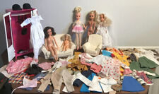 Vintage Sindy Dolls, Clothing Bundle And Furniture