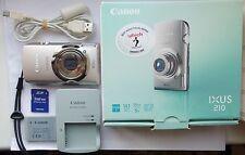 Canon IXUS 210 14.1MP Digital Camera - Silver
